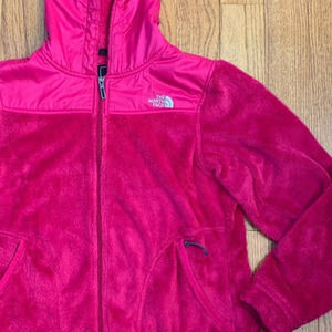 The North Face Oso hoodie pink size medium